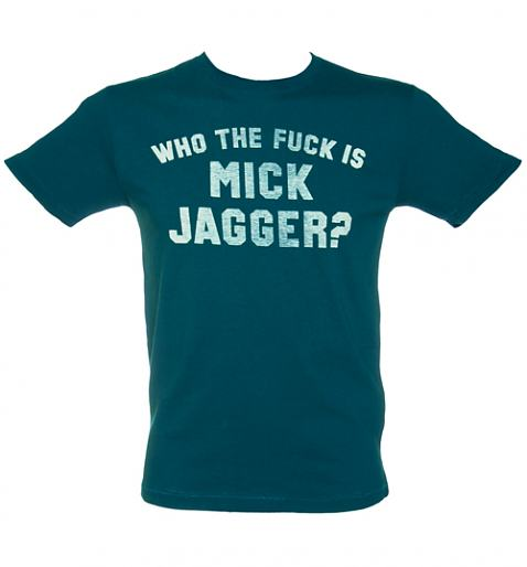 Men's Keith Richards Who The Fuck Is Mick Jagger T-Shirt from Worn By £32.00
