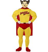 Men's Mighty Mouse Fancy Dress Costume