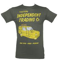 Men's Only Fools and Horses Trotters Independent Traders Van T-Shirt