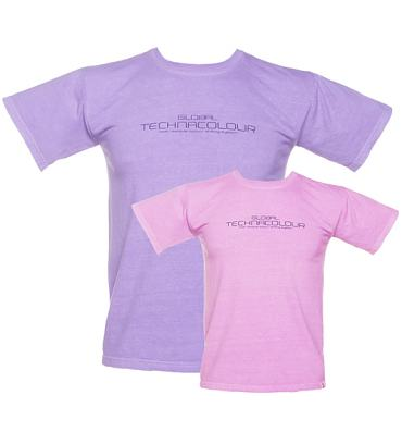 Pink Global Hypercolor T Shirt