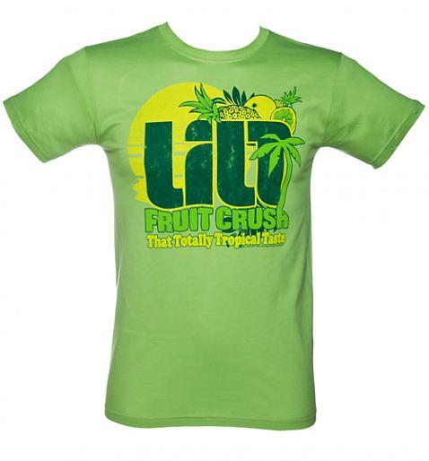 تی شرت با طرح گرافیکی با موضوع میوه های تابستانی