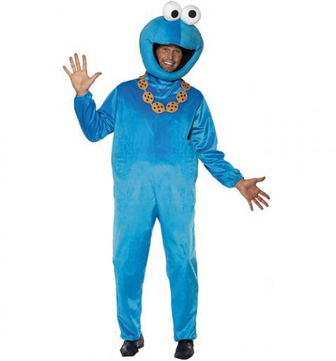 Men's Sesame Street Cookie Monster Fancy Dress Costume £41.99