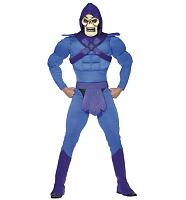Men's Skeletor Fancy Dress Costume