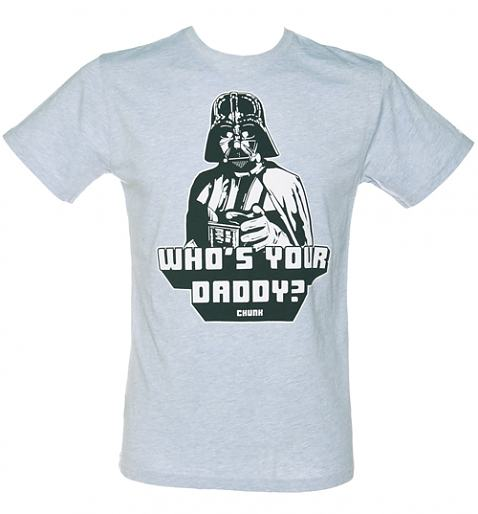 Men's Sky Blue Star Wars Who's Your Daddy T-Shirt from Chunk £27.99 +FREE P&P