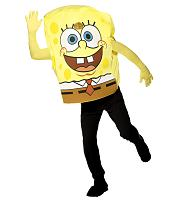 Men's SpongeBob Squarepants Fancy Dress Costume