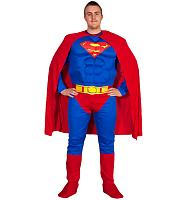 Men's Superman Fancy Dress Costume
