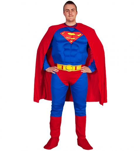 Men's Superman Fancy Dress Costume £36.00