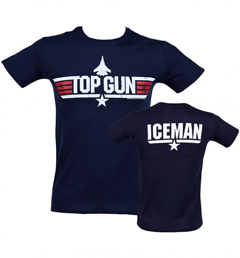 Men's Top Gun Iceman T-Shirt