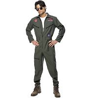 Men's Top Gun Maverick Fancy Dress Costume