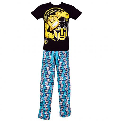 Men's Transformers Bumblebee Robot Pyjamas £27.99