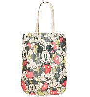 Mickey Mouse All Over Print Canvas Tote Bag