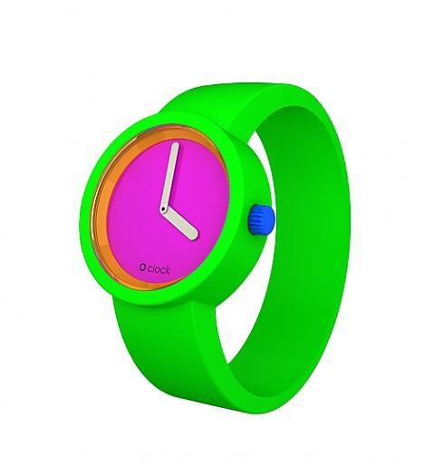 Neon Green Watch from O Clock - £34.99