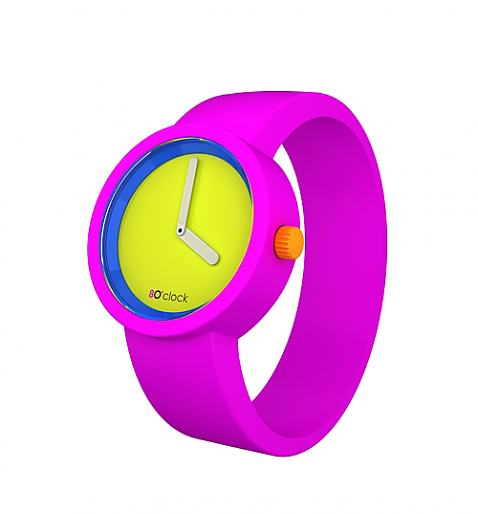 Neon Pink Watch from O Clock - £34.99