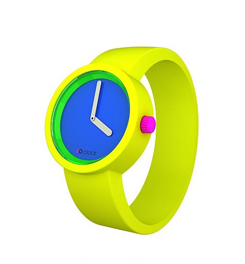 Neon Yellow Watch from O Clock - £34.99