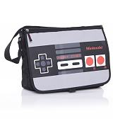 Nintendo Reversable Flap Controller Messenger Bag