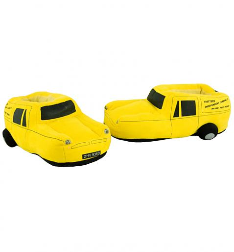 Only Fools And Horses Trotters Reliant Robin Van Slippers £20.00