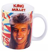 Pat Sharp King Of The Mullets Mug