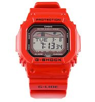 Red G-Lide G-Shock Protection Watch from Casio