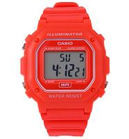 Red Retro Illuminator Watch from Casio