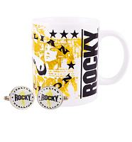 Rocky Mug and Cufflinks Gift Set