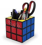 Rubik's Cube Desk Tidy