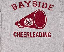 Saved by the Bell Cheerleading Ladies T-Shirt from American Classics