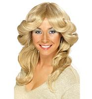 Seventies Blonde Flick Wig