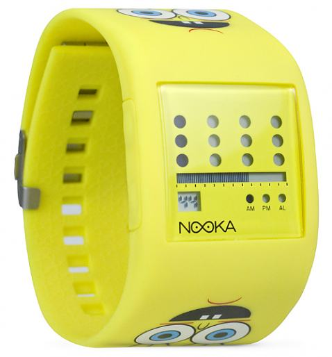 SpongeBob Squarepants Zub Zot Watch from Nooka £125.0
