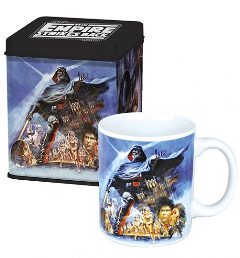 Star Wars Empire Strikes Back Mug and Tin Set £12.99