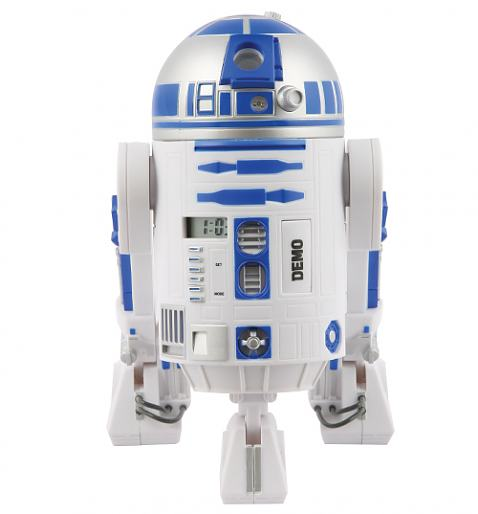 Star Wars R2D2 Projection Alarm Clock £33.99